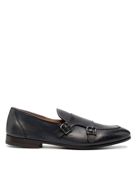 Zapatos monk con correa doble Henderson de hombre de color Blue