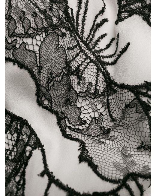Carine Gilson フローラル プリント カフタン Multicolor