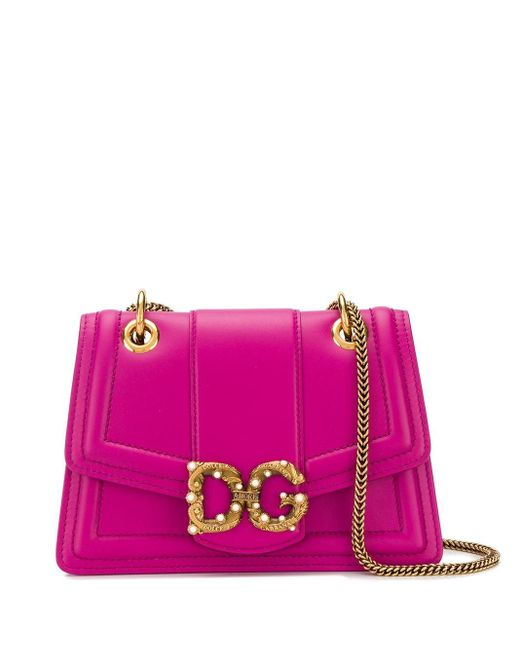 Dolce & Gabbana Dg Amore ショルダーバッグ Pink