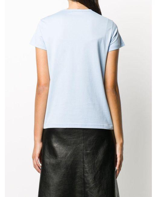 Givenchy フローラル Tシャツ Blue