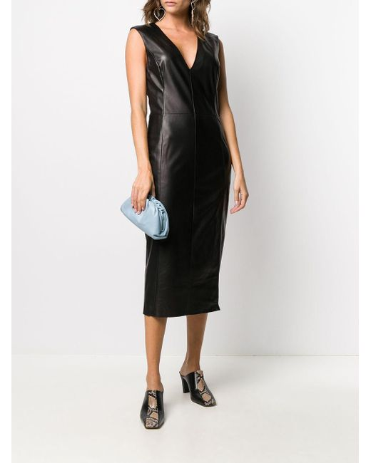 DROMe ノースリーブ ドレス Black