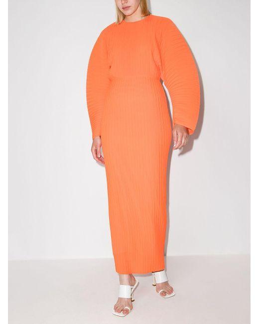 Vestido largo Mirabelle Solace London de color Orange