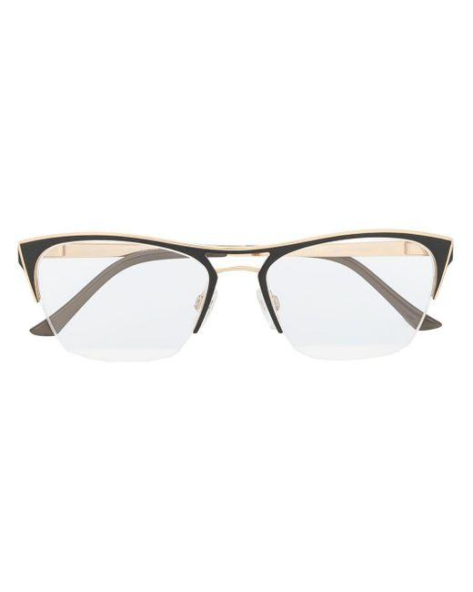 Occhiali cat-eye di Cazal in Metallic