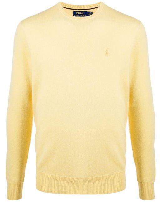 メンズ Polo Ralph Lauren スウェットシャツ Yellow
