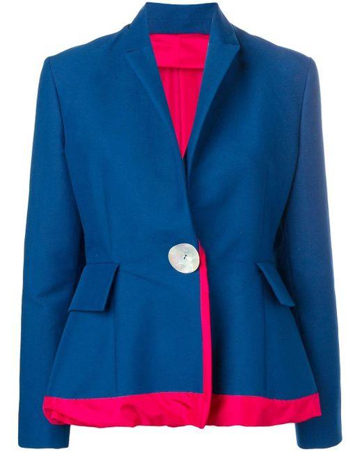 Marni ペプラム ジャケット Blue