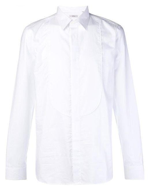 Mauro Grifoni - White Bib Shirt for Men - Lyst