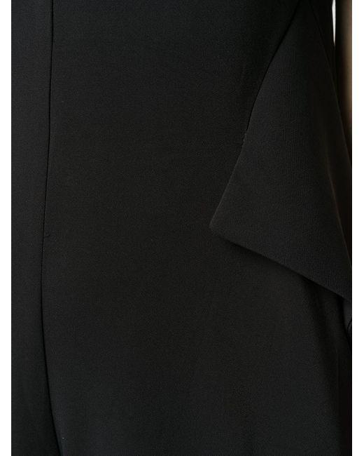 Andrea Ya'aqov Vネック ジャンプスーツ Black