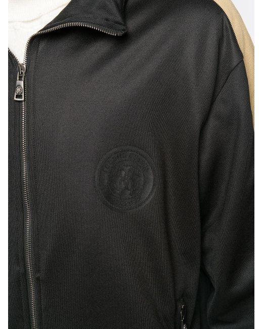 Спортивная Куртка На Молнии Roberto Cavalli для него, цвет: Black