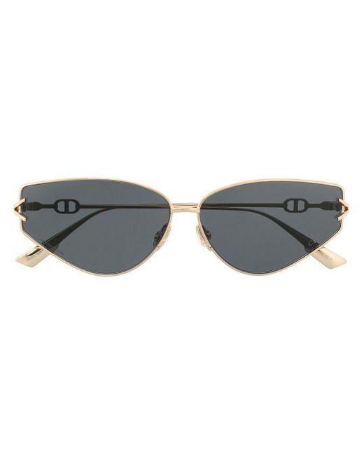Солнцезащитные Очки Diorgypsy2 В Оправе 'кошачий Глаз' Dior, цвет: Metallic