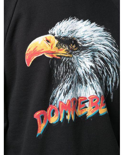 メンズ DOMREBEL Fly プルオーバー Black