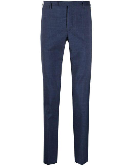 PT01 Blue Slim-cut Chinos for men