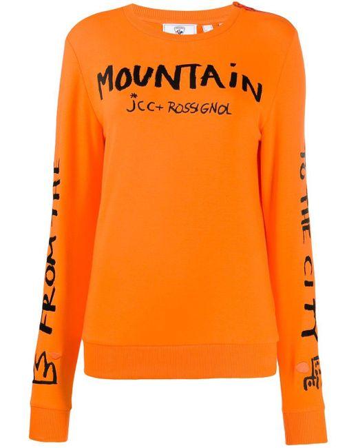 Rossignol Jc De Castelbajac Women Jcc スウェットシャツ Orange