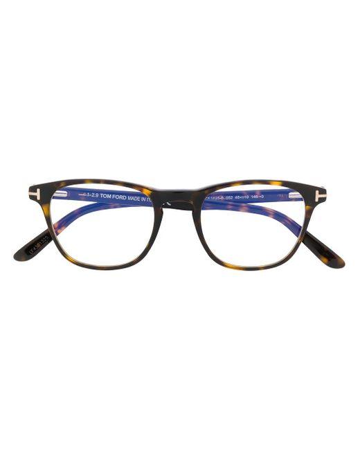 メンズ Tom Ford Ft5629b スクエア 眼鏡フレーム Black
