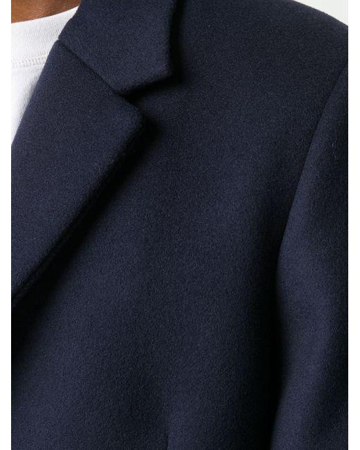 メンズ Acne シングルコート Blue