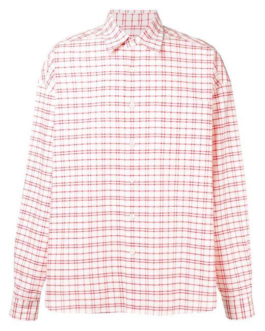 メンズ AMI オーバーサイズ シャツ Pink