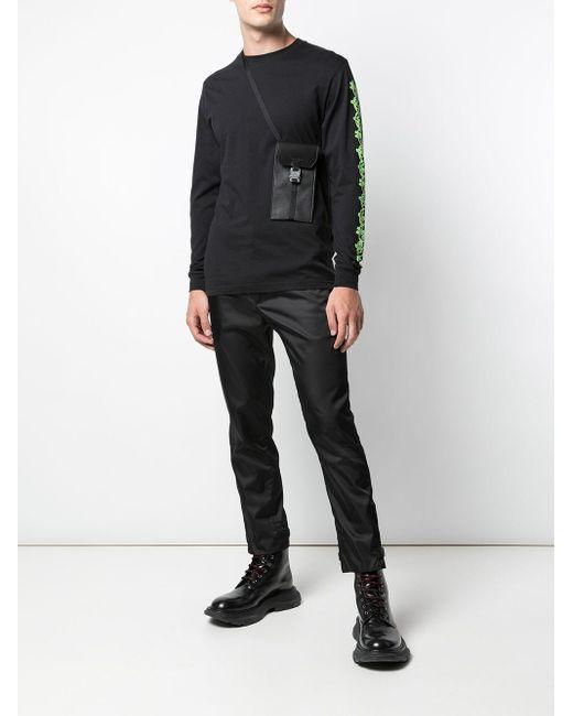 メンズ SSS World Corp Fire Dollar スウェットシャツ Black