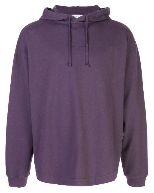メンズ 1017 ALYX 9SM ロゴ パーカー Purple