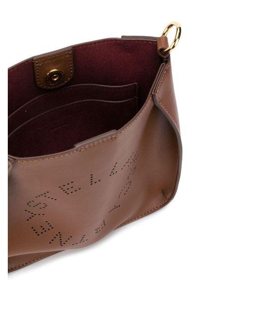 Сумка Через Плечо С Логотипом Stella McCartney, цвет: Brown
