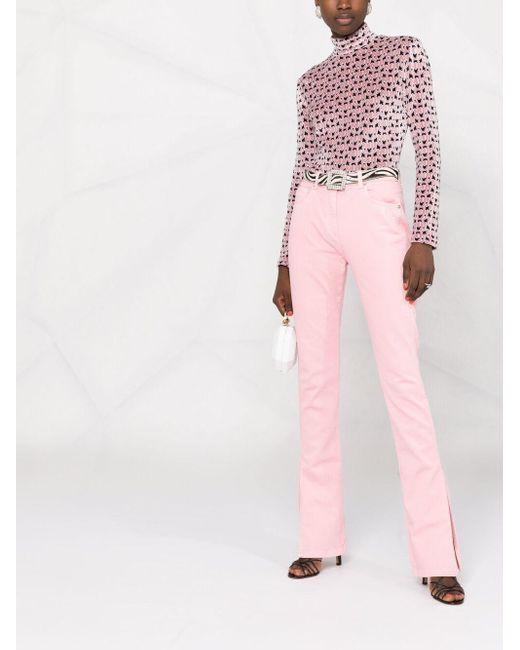 Blumarine スリムジーンズ Pink