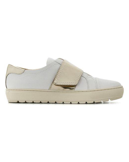 Geox - White Breeda Sneakers - Lyst