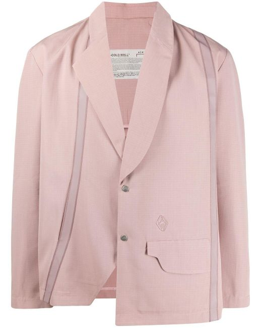 メンズ A_COLD_WALL* シングルジャケット Pink