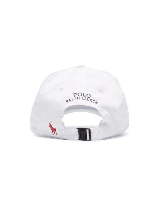 Кепка Usa С Логотипом Polo Ralph Lauren для него, цвет: White