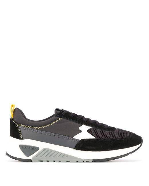 DIESEL Sneakers mit Schnürung in Black für Herren
