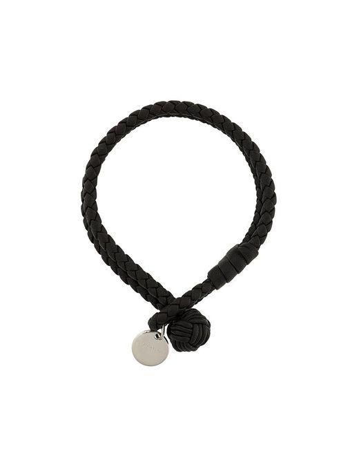 Bottega Veneta - Brown Braided Bracelet - Lyst