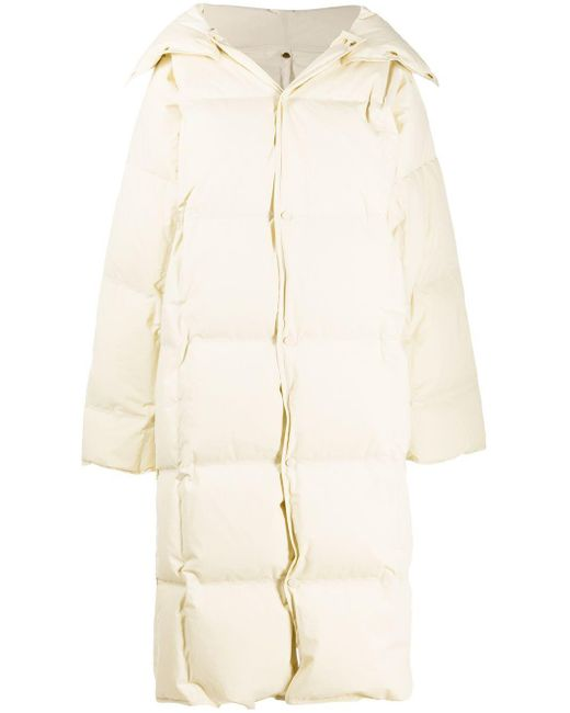 Bottega Veneta オーバーサイズ パデッドコート Natural
