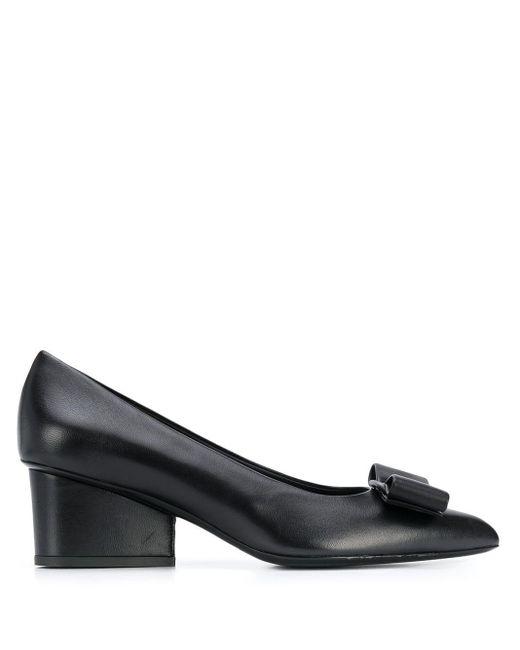 Туфли-лодочки Viva 55 Ferragamo, цвет: Black