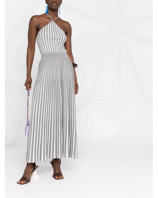 Missoni ストライプ ホルターネック ドレス Multicolor