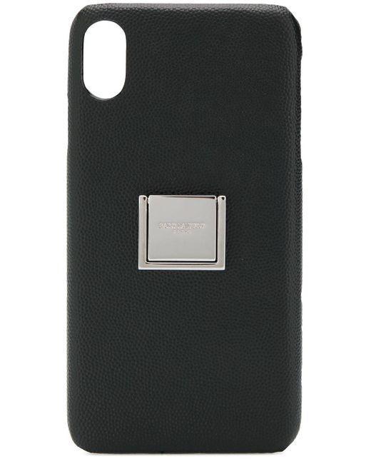 メンズ Saint Laurent Iphone Xs ケース Black