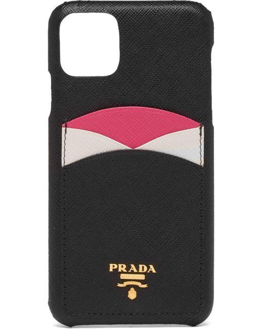 Prada Iphone 11 Pro Max ケース Black