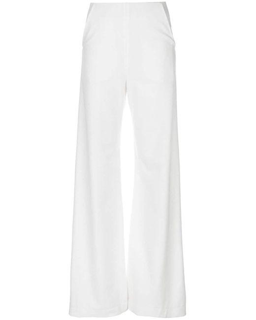 Paula Knorr フレアパンツ White