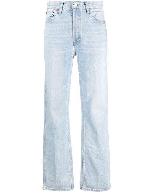 Jeans taglio comodo The High Rise di Re/done in Blue