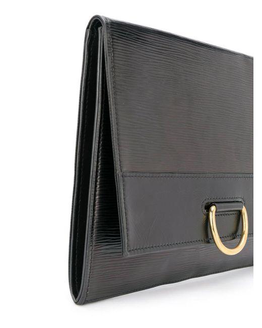 Clutch 1989 Pre-owned di Louis Vuitton in Black