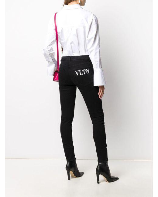 Valentino Vltn ジーンズ Black