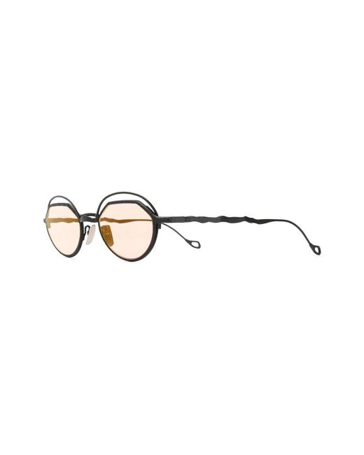 Kuboraum Black Square Tinted Sunglasses