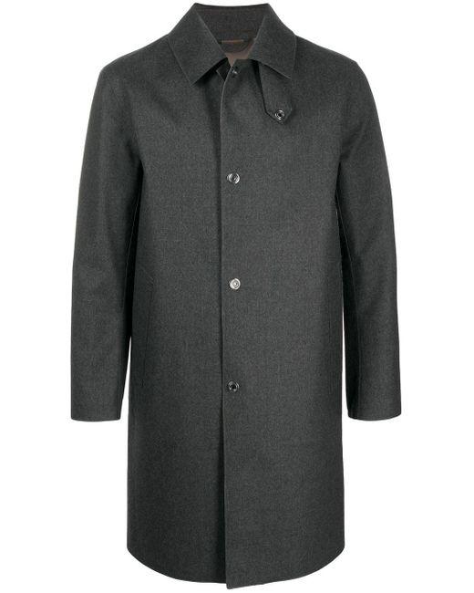 メンズ Mackintosh Dunkeld カットオフエッジコート Gray