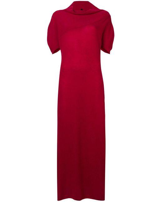 Unravel Project カシミアニット ロングドレス Red