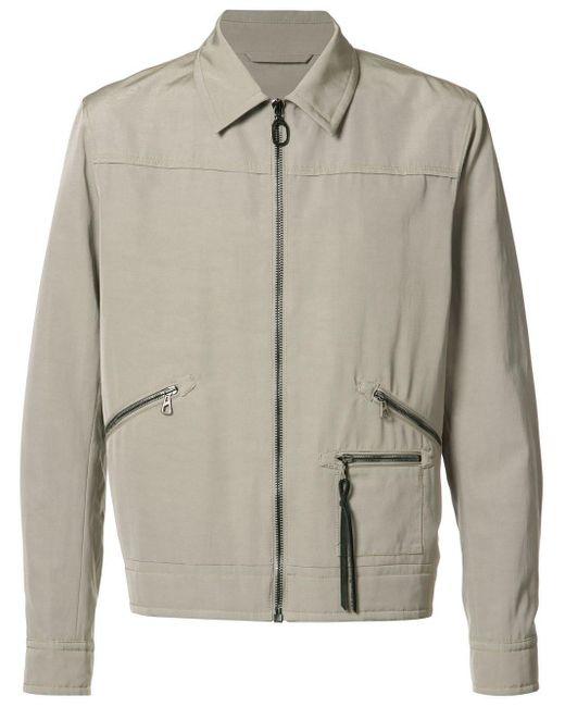 メンズ Lanvin ジップ付き ジャケット Gray