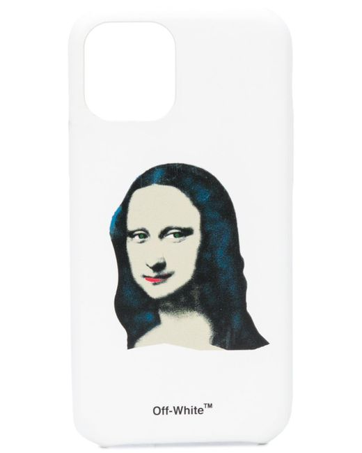 Чехол Monalisa Для Iphone 11 Off-White c/o Virgil Abloh для него, цвет: White