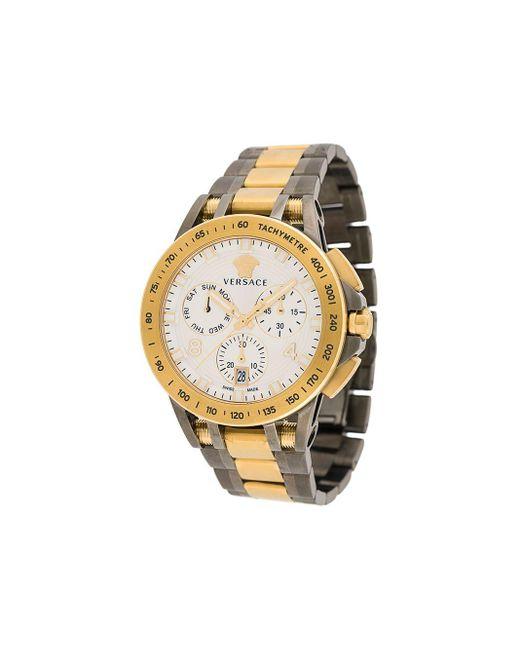 メンズ Versace Sport-tech 腕時計 Metallic