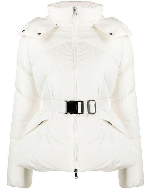 Moncler パデッドジャケット White