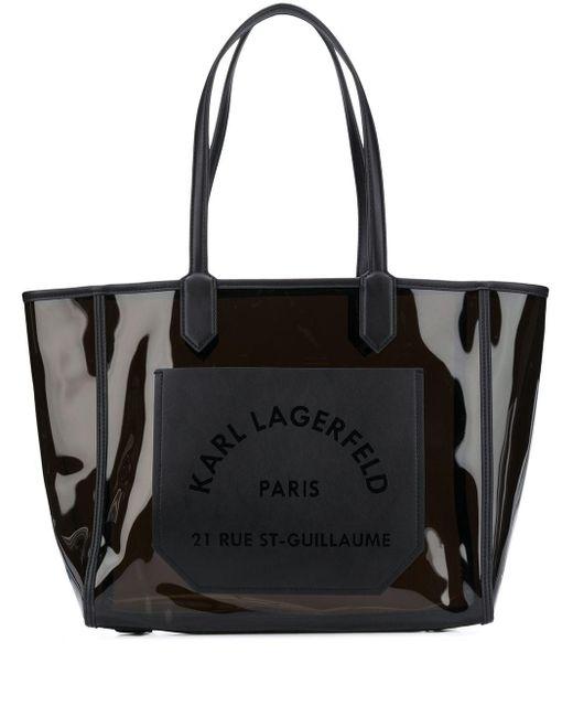 Karl Lagerfeld K/journey ハンドバッグ Black