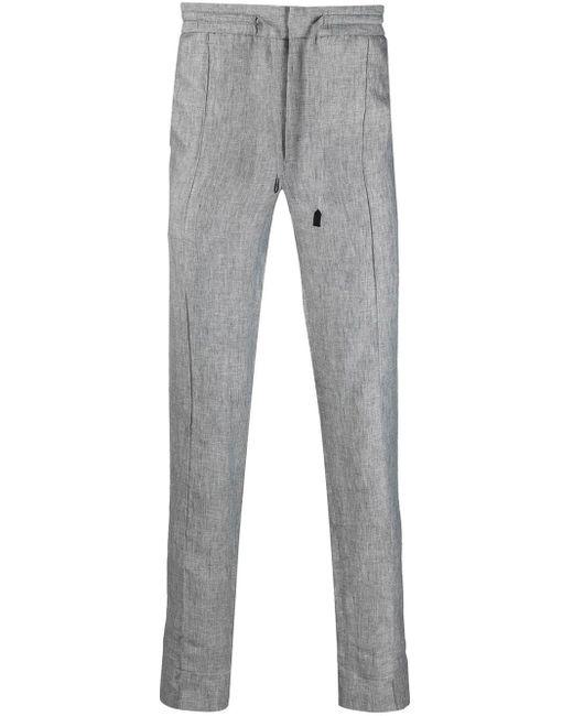 メンズ Brioni ドローストリング パンツ Gray