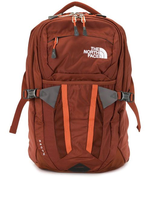 メンズ The North Face Recon ロゴ バックパック Orange