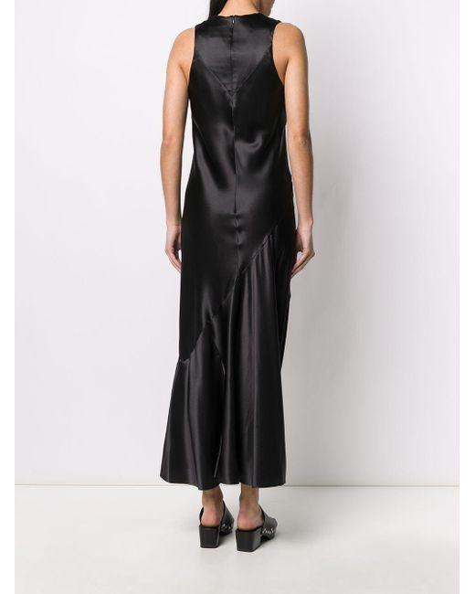 Платье Макси Ann Demeulemeester, цвет: Black