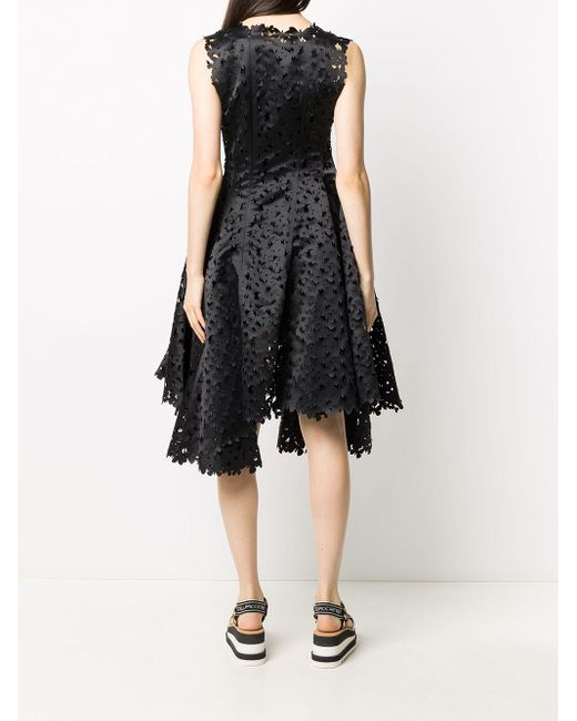 Paskal Butterfly レーザーカット ドレス Black