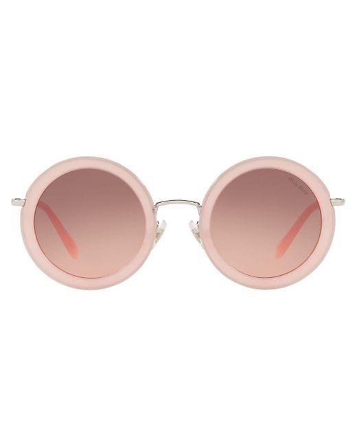 Miu Miu デリス サングラス Pink
